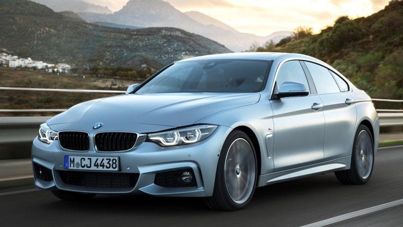 BMW Serie 4 si aggiorna, fari full led per tutte
