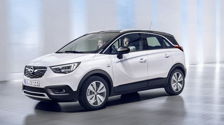 Opel raddoppia: ecco Crossland X
