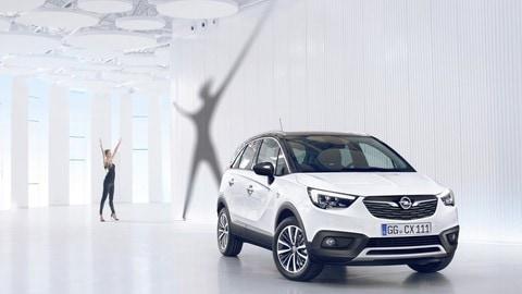 Opel Crossland X: foto