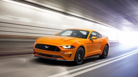 Ford Mustang 2018, le foto del restyling