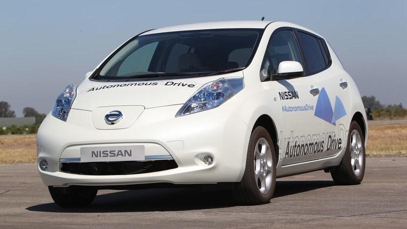 Nissan e guida autonoma, cominciano i test in Europa