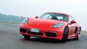Porsche 718 Cayman S, spinge sul 4: la prova