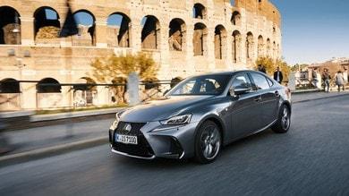 Lexus IS Hybrid, la rivale giapponese - primo contatto