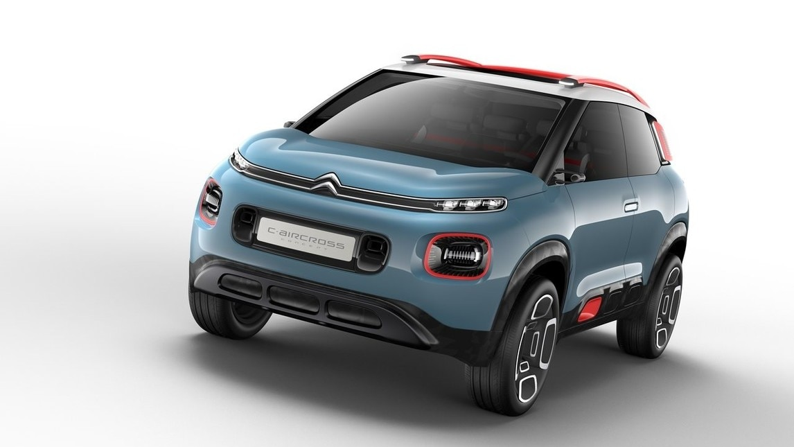 citroen c aircross concept assaggio di c3 picasso. Black Bedroom Furniture Sets. Home Design Ideas