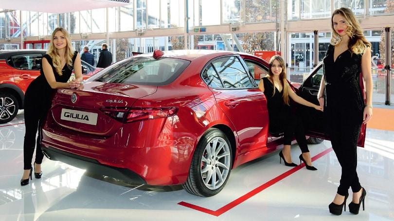 L'Alfa Giulia celebra il rilancio sportivo del Biscione