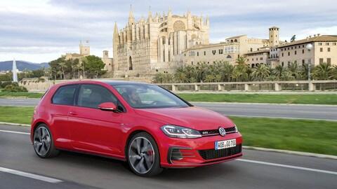 Upgrade per la Volkswagen Golf 7: foto