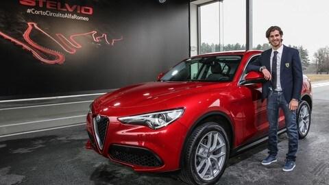 Alfa Romeo Stelvio a Balocco: foto
