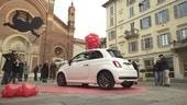 San Valentino, la Fiat 500 diventa una Kiss Car
