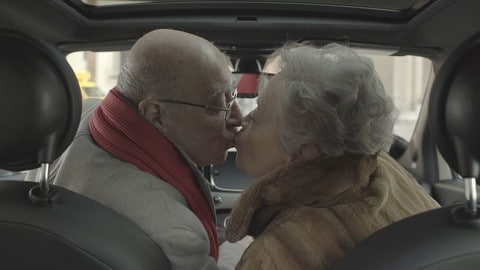 Fiat 500 kiss car per San Valentino