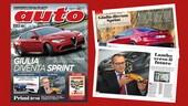Auto di marzo è in edicola, con i segreti dell'Alfa Giulia Sprint