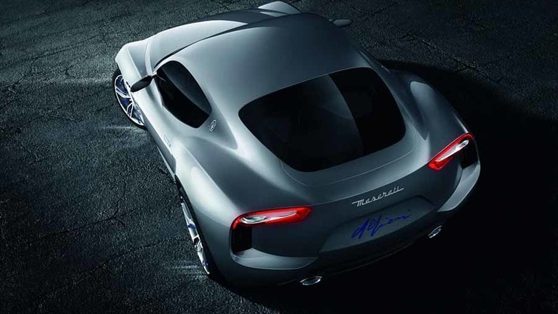 Maserati Alfieri, il futuro è ibrido