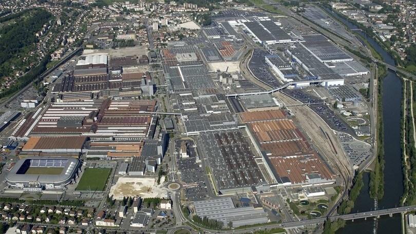 PSA modernizza l'impianto di Sochaux