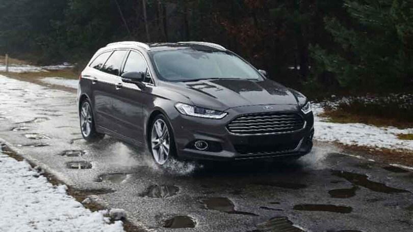Ford mappa le buche in Europa per aumentare la sicurezza