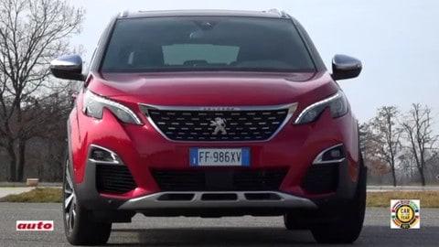 Auto dell'anno, la versatilità della Peugeot 3008