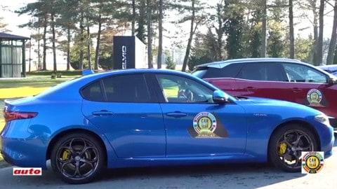 Auto dell'anno, le peculiarità tecniche dell'Alfa Romeo Giulia
