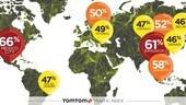 Le dieci città più trafficate: in Italia Roma supera Milano