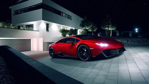 Lamborghini Hurcan di Novitec Torado, rombo di tuono