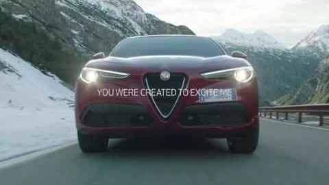 Alfa Romeo Stelvio, lo spot