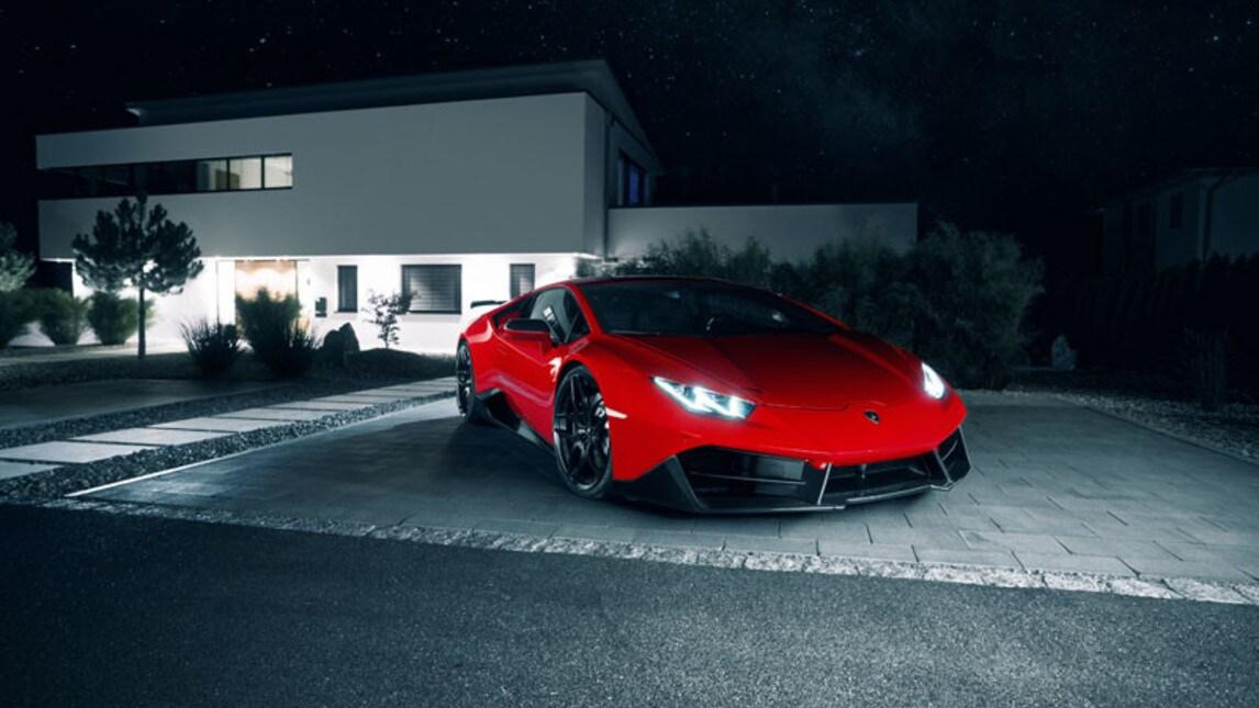 Lamborghini Huracan di Novitec Torado