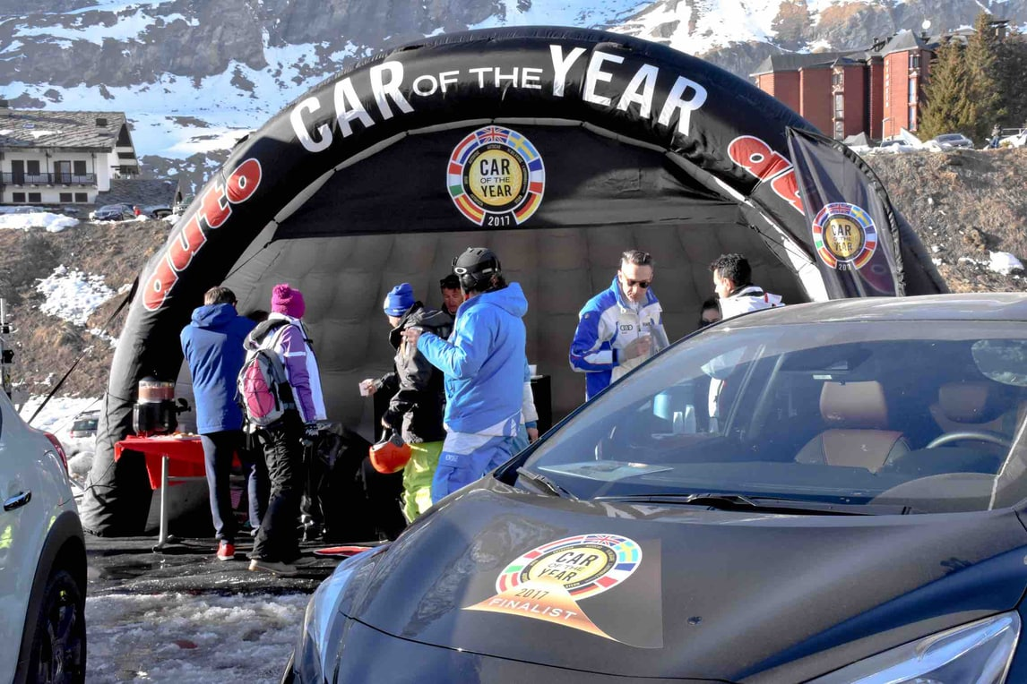 Car of the Year a Cervinia: in bella mostra le 7 auto finaliste