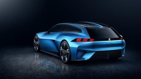 Peugeot Instinct Concept, le foto
