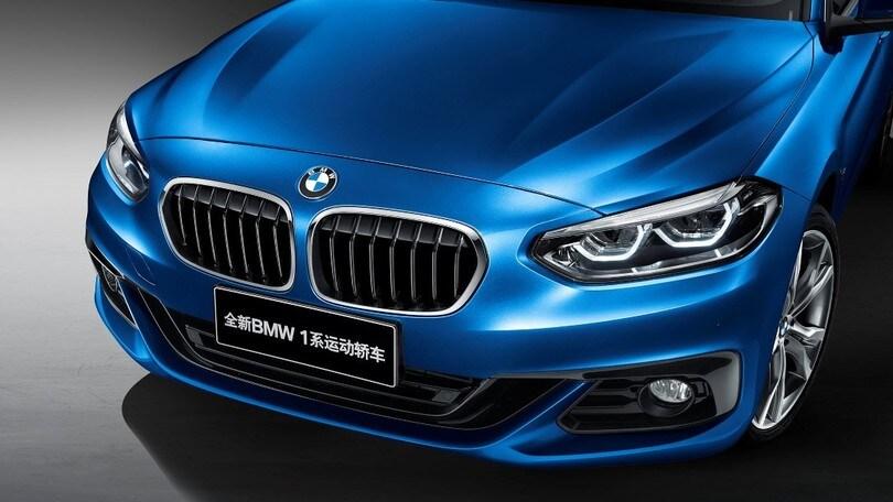 BMW Serie 1 sedan, le foto