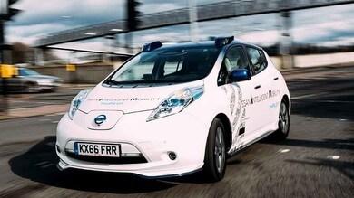 Nissan, test di guida autonoma anche in Europa
