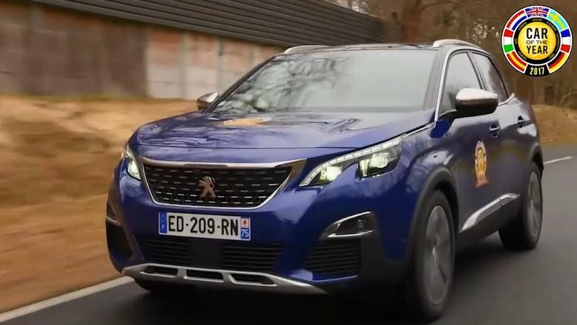 Auto dell'Anno 2017, Peugeot 3008 è la nuova regina
