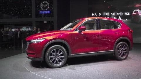 Mazda CX-5 al Salone di Ginevra