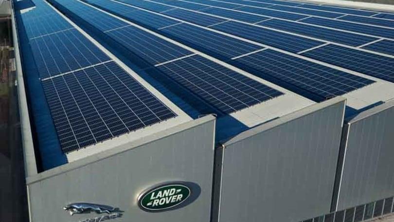 Jaguar Land Rover sceglie le fonti rinnovabili per l'elettrico