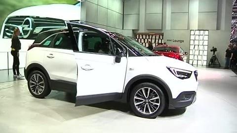 Opel Crossland X al Salone di Ginevra
