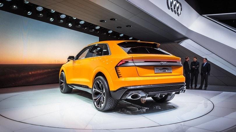 Audi L Inedita Q4 Nel 2019 E Tre Elettriche Entro Il 2020