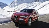 Alfa Romeo Stelvio, le mappe saranno fornite da TomTom