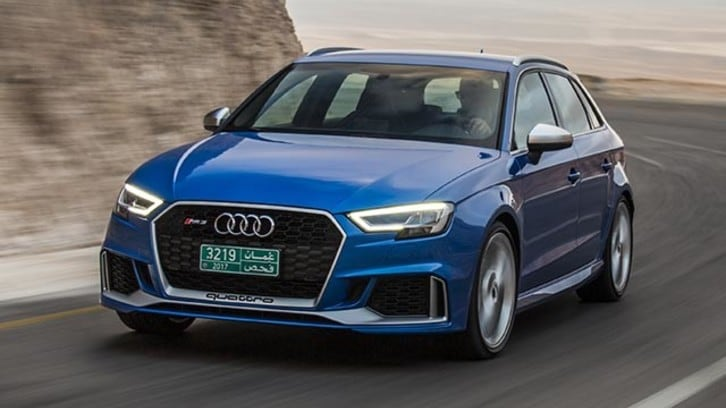Audi RS3, la carica dei 400: primo contatto