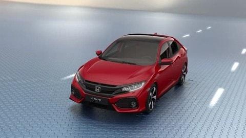 Honda Sensing, la Civic non è mai stata così sicura