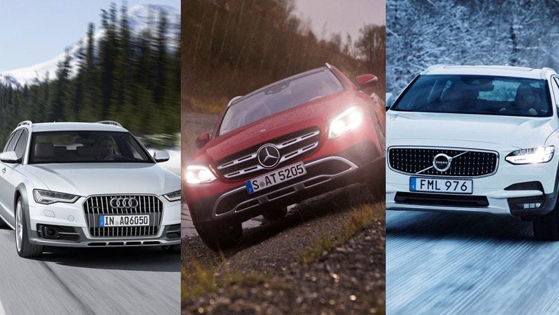Audi, Mercedes, Volvo: il tridente delle station inarrestabili