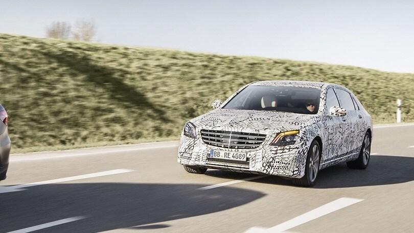 Mercedes Classe S, il restyling porta tanta automazione