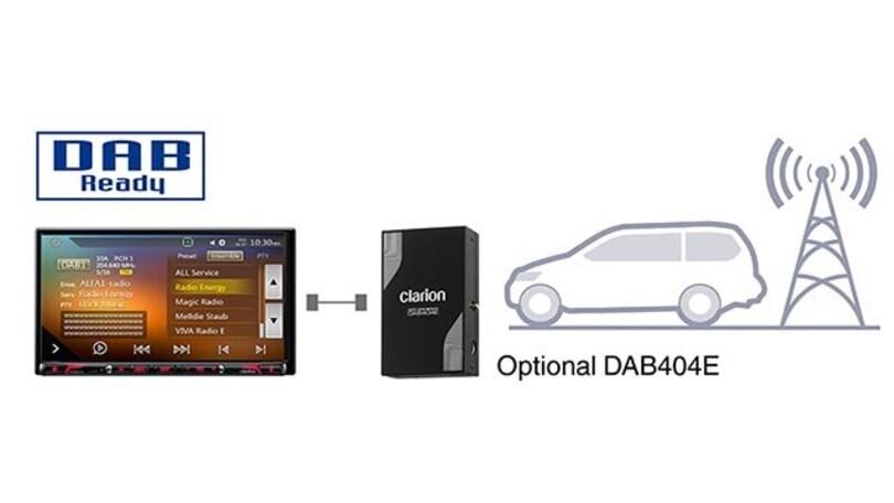 NX807E, la stazione multimediale CarPlay di Clarion
