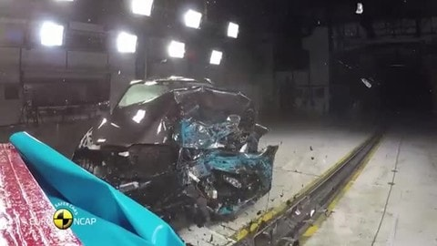BMW Serie 5, 5 stelle nei crash test Euro NCAP