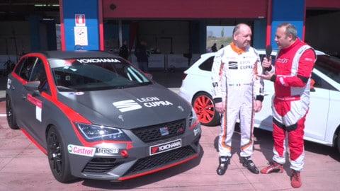 Seat Leon Cupra ST TCS: la prova in pista