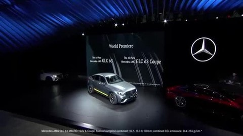 Mercedes AMG GLC 63, il debutto a New York