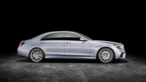 Mercedes Classe S restyling, arrivano i nuovi 6 cilindri