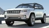 Yuntu, debutto a Shanghai per la prima ibrida Jeep