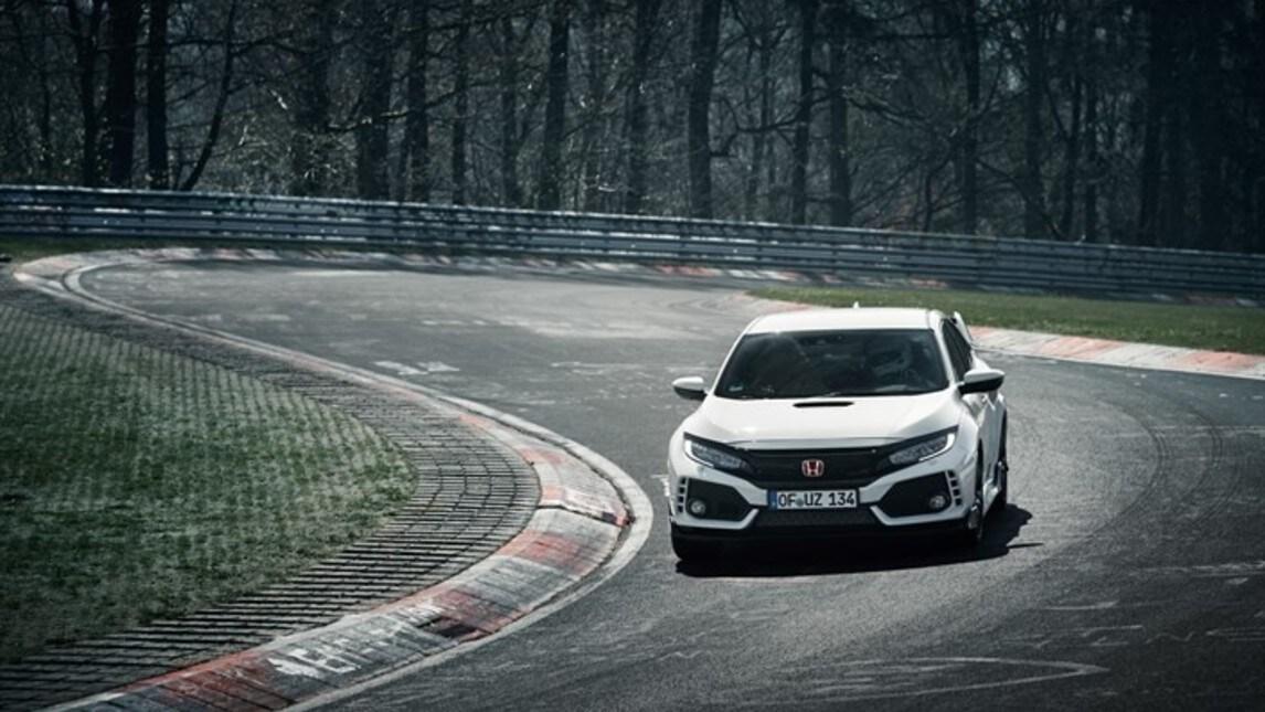 La Honda Civic Type-R si riprende il record al ring