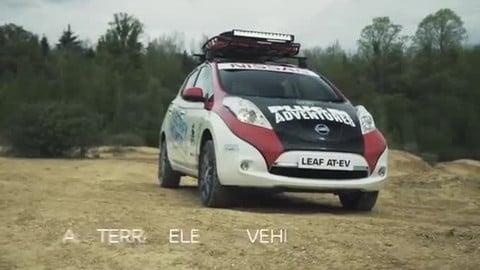 Nissan Leaf, la prima elettrica al Mongol Rally