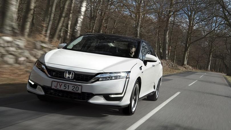Honda Clarity Fuel Cell... l'ora dell'idrogeno