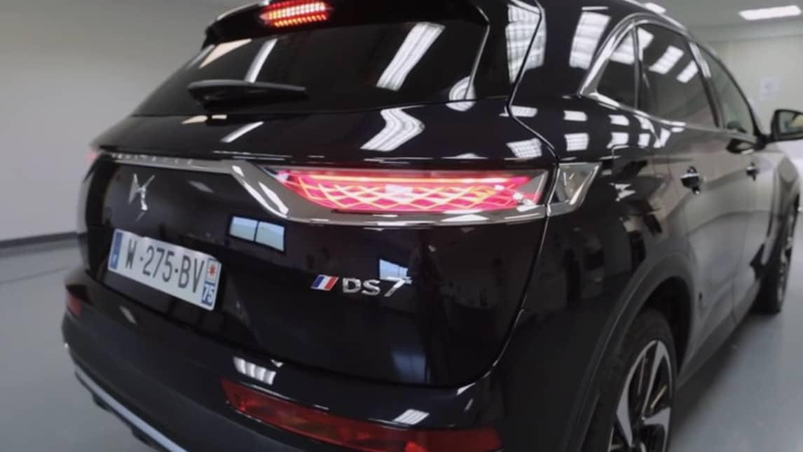 DS7 Crossback, l'auto presidenziale di Macron
