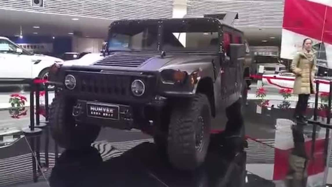 Humvee C-Series, il ritorno dell'Hummer