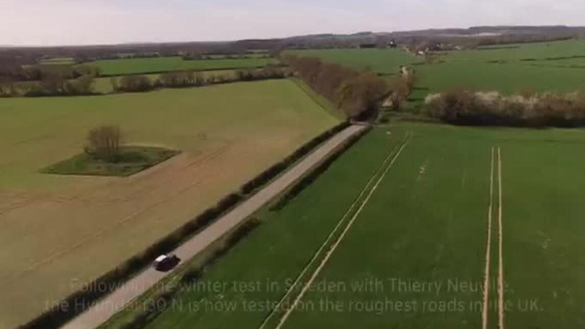 Hyundai i30 N test finali sulle strade inglesi