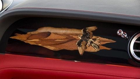 Bentley Bentayga Falconry by Mulliner, le foto